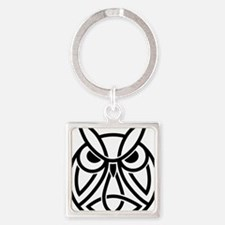 Conor Byrne Owl 2 Square Keychain