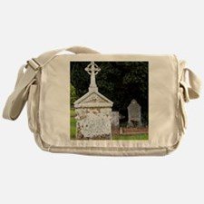 12th Century Cemetary at Jerpoint Ab Messenger Bag
