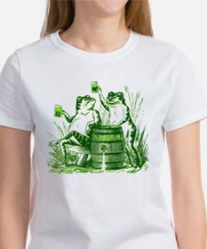 Drunk Frogs St Patricks Day Tee