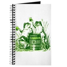 Drunk Frogs St Patricks Day Journal