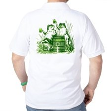 Drunk Frogs St Patricks Day T-Shirt