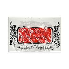 Negative Confession Grunge Banner Rectangle Magnet