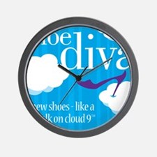 DivaBagHRCloudNine Wall Clock