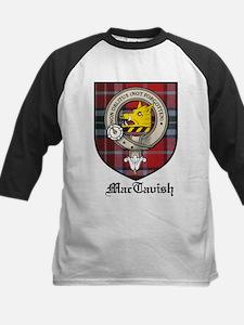 MacTavish Clan Crest Tartan Tee