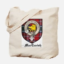 MacTavish Clan Crest Tartan Tote Bag