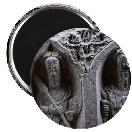 Medieval stone carving of Saints at Jerpoin Magnet