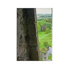 Ireland. The infamous Blarney Cas Rectangle Magnet