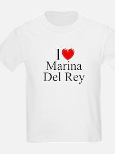 """I Love Marina Del Rey"" Kids T-Shirt"