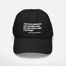 Midnight snacks light Baseball Hat