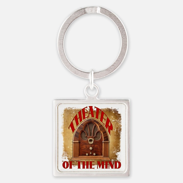 Theater Of The Mind Square Keychain