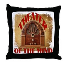 Theater Of The Mind Throw Pillow