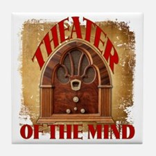 Theater Of The Mind Tile Coaster