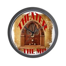 Theater Of The Mind Wall Clock