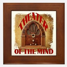 Theater Of The Mind Framed Tile