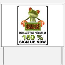 OBAMA GEKKO Yard Sign