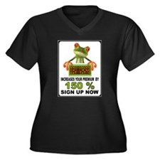 OBAMA GEKKO Plus Size T-Shirt