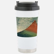 mt Fuji by Katsushika, Hokusai Stainless Steel Tra