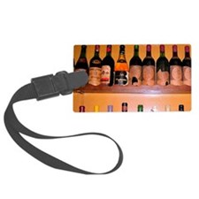 A wine store in Verona, Italy. Luggage Tag