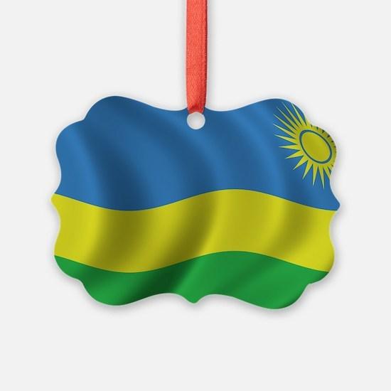 rwanda_flag Ornament