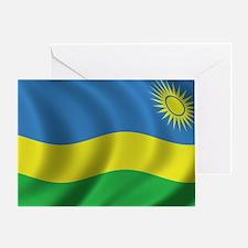 rwanda_flag Greeting Card