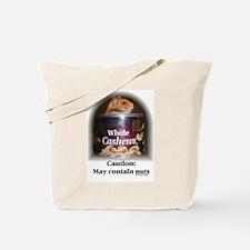 Caution Hamster Tote Bag