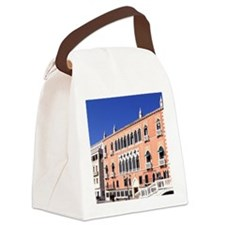 Europe, Italy, Venice. Hotel Dani Canvas Lunch Bag