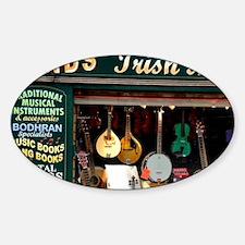 Killarney. Irish Music Store window Decal
