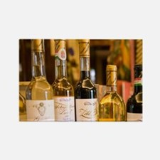 Custom Wine Bottles at Gundel Mos Rectangle Magnet