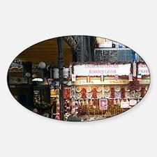 Great Market Interior (NR)ner Town: Sticker (Oval)
