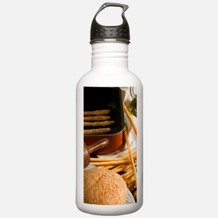 Italy, food, grissini, Water Bottle