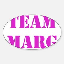 TEAM MARG PINK Decal