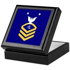 USCG Reserve TCCM<BR> Tiled Insignia Box