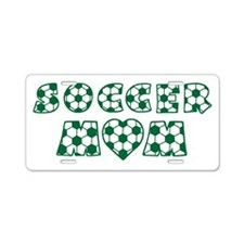 wh green, Mom Aluminum License Plate