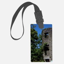 Blarney Castle ruin in thethe ca Luggage Tag