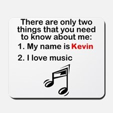 Two Things Music Mousepad