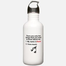 Two Things Music Sports Water Bottle
