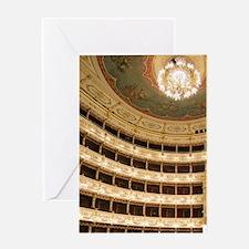 Teatro Regio, Parma, Emilia-Romagna, Greeting Card