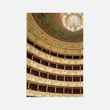 Teatro Regio, Parma, Emilia-Romag Rectangle Magnet
