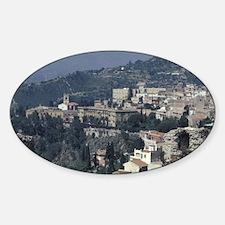 Italy, Sicily, Taormina. Greek thea Decal