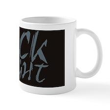 BLACK wide Mug