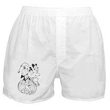 oliver pumpkin_1 Boxer Shorts