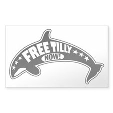 Free Tilly Now! Decal
