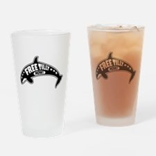 Free Tilly Now! Drinking Glass
