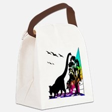 KRONO_PHASE -KITTY_SNACKcp Canvas Lunch Bag