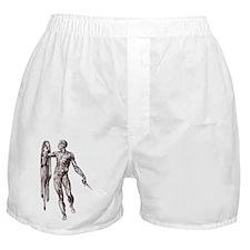 Flayed Boxer Shorts