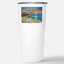 Moon Rocks Sunset d shirt Travel Mug
