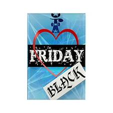 I Love Black Friday PosterP Rectangle Magnet