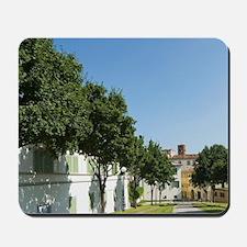 Le Mura, The City Walls, Lucca, Tuscany, Mousepad