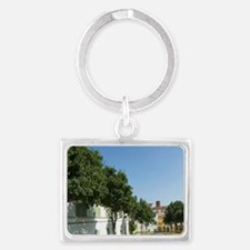 Le Mura, The City Walls, Lucca, Landscape Keychain