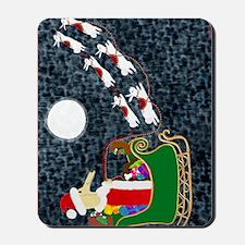 Santa Dachshund Mousepad